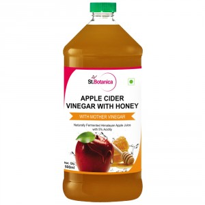 Buy St.Botanica Apple Cider Vinegar With Honey - Natural With Goodness of Mother of Vinegar - Nykaa