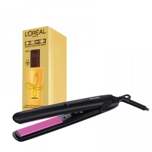 Buy Philips Hair Straightener + L'Oreal Paris Smooth Intense Instant Smoothig Serum - Nykaa