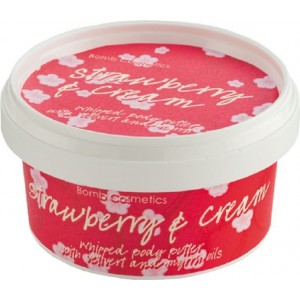 Buy Bomb Cosmetics Strawberries & Cream Body Butter  - Nykaa