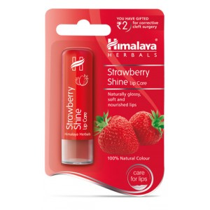 Buy Himalaya Strawberry Shine Lip Balm - Nykaa