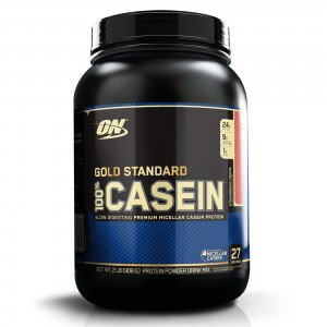 Buy Optimum Nutrition (ON) 100% Casein Protein Powder (Strawberry Cream) - Nykaa