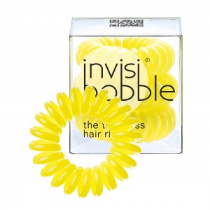 Buy Invisibobble Hair Ring - Submarine Yellow - Pack Of 3 - Nykaa