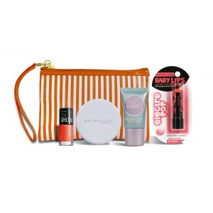 Buy Maybelline New York Summer Essentials Kit - Summer Tang - Nykaa