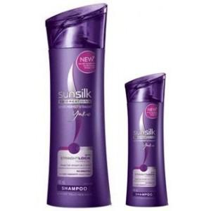 Buy Sunsilk Straight Lock Shampoo 340 ml + 80 ml Shampoo Free - Nykaa