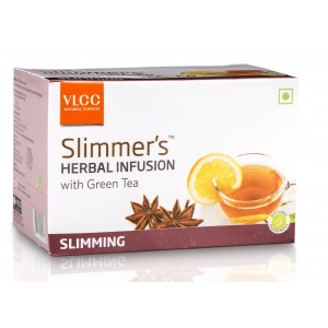 Buy VLCC Slimmers Herbal Infusion With Green Tea - Slimming (10 Packs) - Nykaa