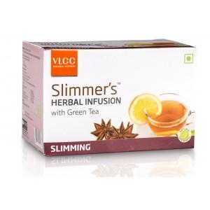 Buy VLCC Slimmers Herbal Infusion With Green Tea - Slimming (25 Packs) - Nykaa