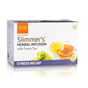 Buy VLCC Slimmers Herbal Infusion With Green Tea - Stress Relief (25 Packs) - Nykaa