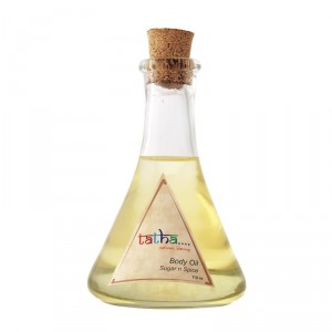 Buy Tatha Nature's Blessing Body Oil - Sugar & Spice - Nykaa