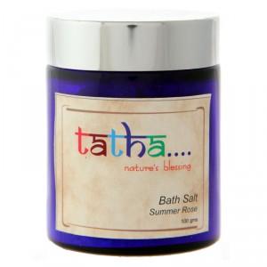 Buy Tatha Nature's Blessing Bath Salt Summer Rose - Nykaa