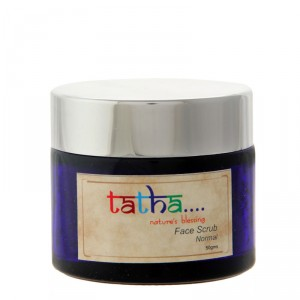 Buy Tatha Nature's Blessing Face Scrub - Normal - Nykaa