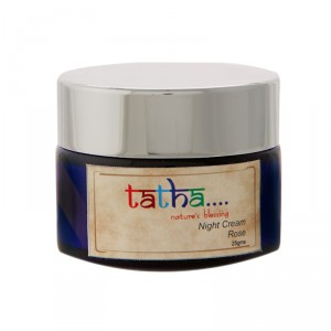 Buy Tatha Nature's Blessing Night Cream - Rose - Nykaa