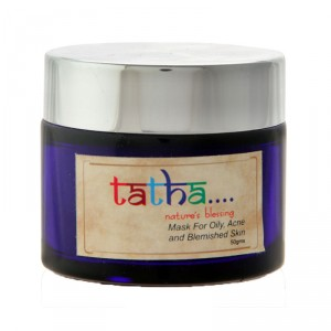 Buy Tatha Nature's Blessing Mask For Oily, Acne And Blemished Skin - Nykaa