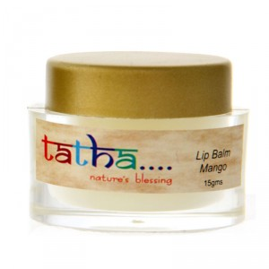 Buy Tatha Nature's Blessing Lip Balm - Mango - Nykaa