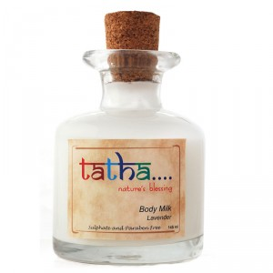 Buy Tatha Nature's Blessing Body Milk Lavender - Nykaa