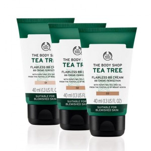 Buy The Body Shop Tea Tree Flawless BB Cream - Nykaa