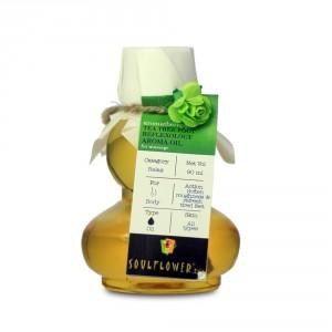 Buy Soulflower Tea Tree Foot Reflexology Aroma Massage Oil - Nykaa