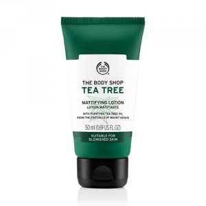 Buy The Body Shop Tea Tree Matifying Lotion - Nykaa