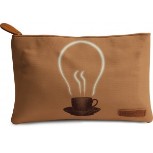 Buy DailyObjects The Power Of Coffee Carry-All Pouch Medium - Nykaa