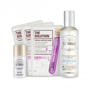 Buy The Face Shop Therapy Hydrating Tonic Treatment Combo - Nykaa