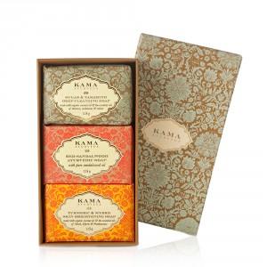 Buy Kama Ayurveda Three Traditional Treatment Soap Box - Nykaa