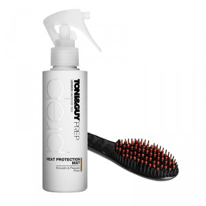 Buy Toni&Guy Heat Protection Mist + Corioliss 3 in 1 Digital Heated Hot Brush - Nykaa
