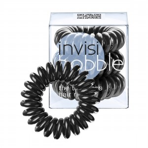 Buy Invisibobble Hair Ring - True Black - Pack Of 3 - Nykaa