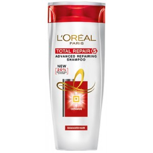 Buy Herbal L'Oreal Paris Total Repair 5 Shampoo - Nykaa