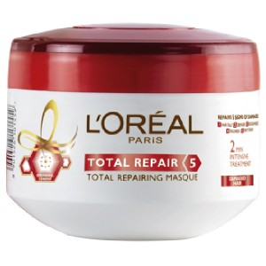 Buy Herbal L'Oreal Paris Total Repair 5 Masque - Nykaa