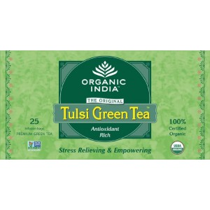 Buy Organic India Tulsi Green Tea Bags - Nykaa
