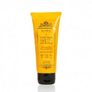 Buy Kama Ayurveda Natural Sun Protection SPF - 21 - Nykaa
