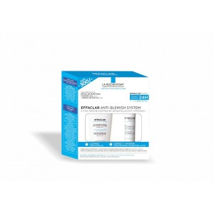 Buy La Roche-Posay Effaclar Anti Blemish System Combo (Save Rs.300) - Nykaa