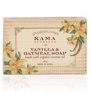 Buy Herbal Kama Ayurveda Vanilla & Oatmeal Soap - Nykaa
