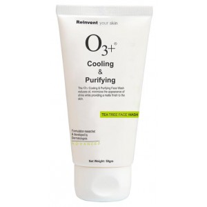 Buy O3+ Cooling Purifying Tea Tree Face Wash  - Nykaa