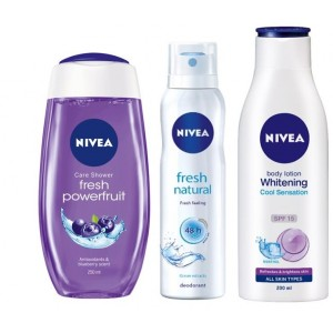 Buy Nivea Fresh & Cool Combo - Nykaa