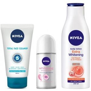 Buy Nivea Whitening Combo - Nykaa