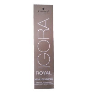 Buy Herbal Schwarzkopf Professional Igora Royal Fashion & Coverage Permanent Color Creme - Nykaa