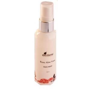 Buy Wild Earth Rose Aloe Vera Face Mist - Nykaa