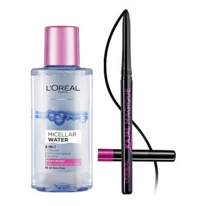 Buy L'Oreal Paris Micellar Water + Free Kajal Magique - Nykaa