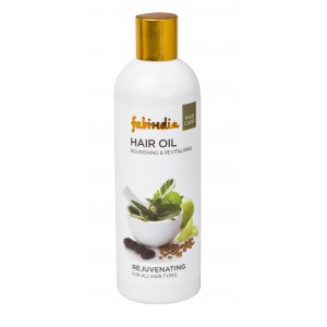Buy Fabindia Herbal Rejuvenating Hair Oil  - Nykaa