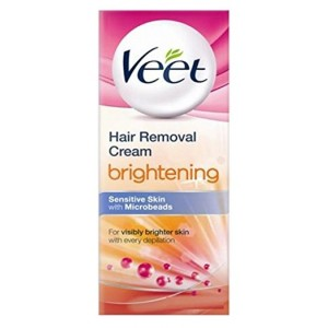 Buy Veet Hair Removal Cream - Brightening (Sensitive Skin) - Nykaa