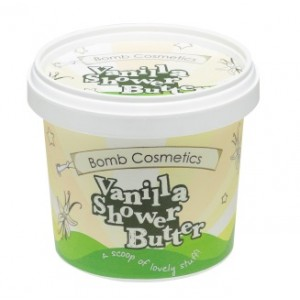 Buy Bomb Cosmetics Vanilla Shower Butter - Nykaa