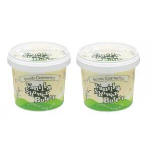 Buy Bomb Cosmetics Vanilla Shower Butter Combo (Buy 1 Get 1 Free) - Nykaa