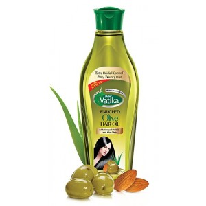 Buy Dabur Vatika Enriched Olive  Hair Oil - Nykaa