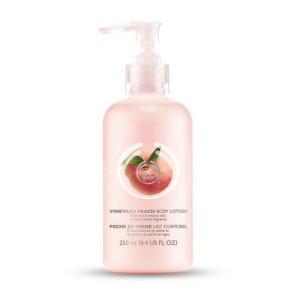Buy The Body Shop Vineyard Peach Body Lotion - Nykaa
