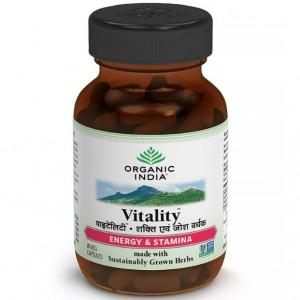 Buy Organic India Vitality - Nykaa