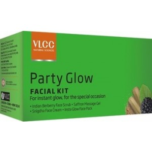 Buy Herbal VLCC Party Glow Single Facial Kit - Nykaa