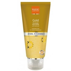 Buy VLCC Gold Polishing Face Scrub - Nykaa