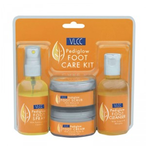 Buy VLCC Pedi Glow Foot Care Kit - Nykaa