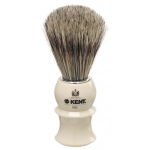 Buy Kent White Socket-Blended Filaments Shaving Brush - Nykaa