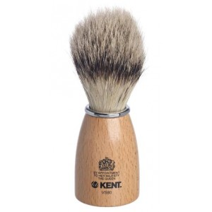 Buy Kent Wooden Socket Small Pure Bristle Badger Effect Shaving Brush - Nykaa